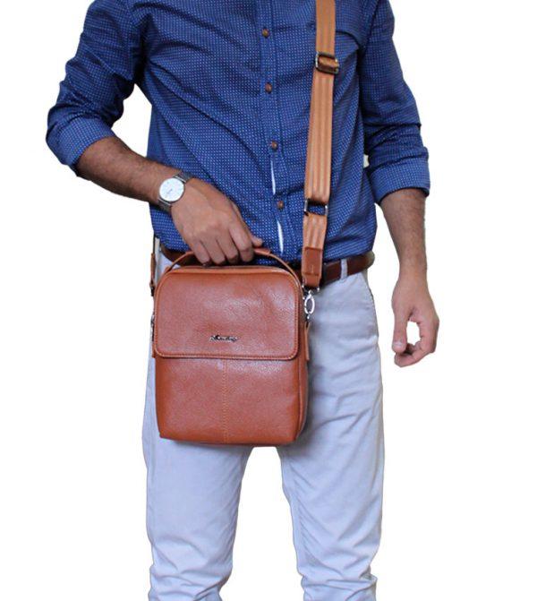 کیف دوشی چرم صنعتی آراز