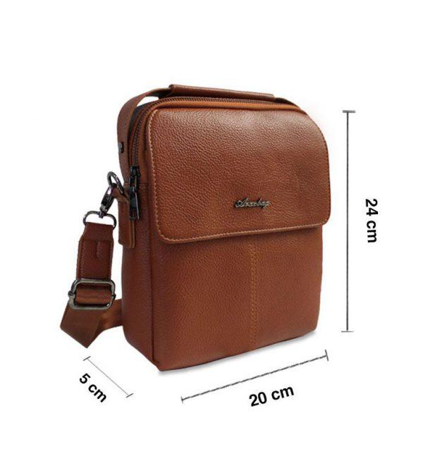 کیف دوشی چرم آراز بگ