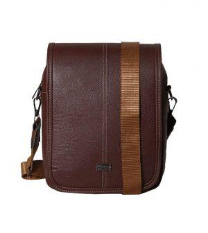 کیف دوشی چرم بزرگ مدل 7101
