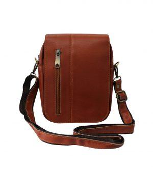 کیف دوشی چرم کوچک کد 7028