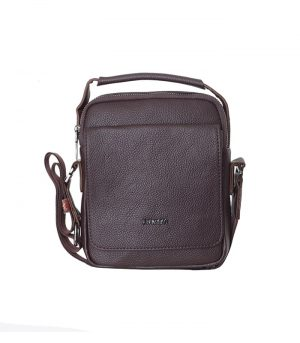 کیف دوشی چرم آرازبگ مدل۲۱۴