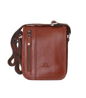کیف دوشی چرم طبیعی-2061
